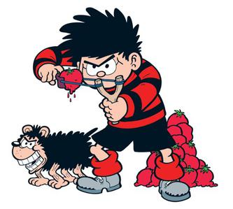 333x299 Dennis The Menace And Gnasher
