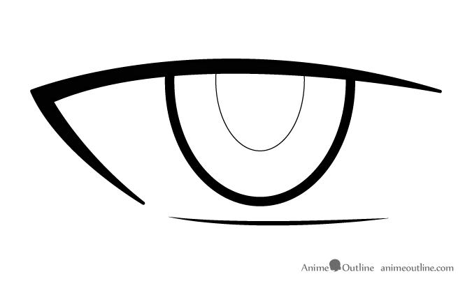 675x413 How To Draw Male Anime Manga Eyes
