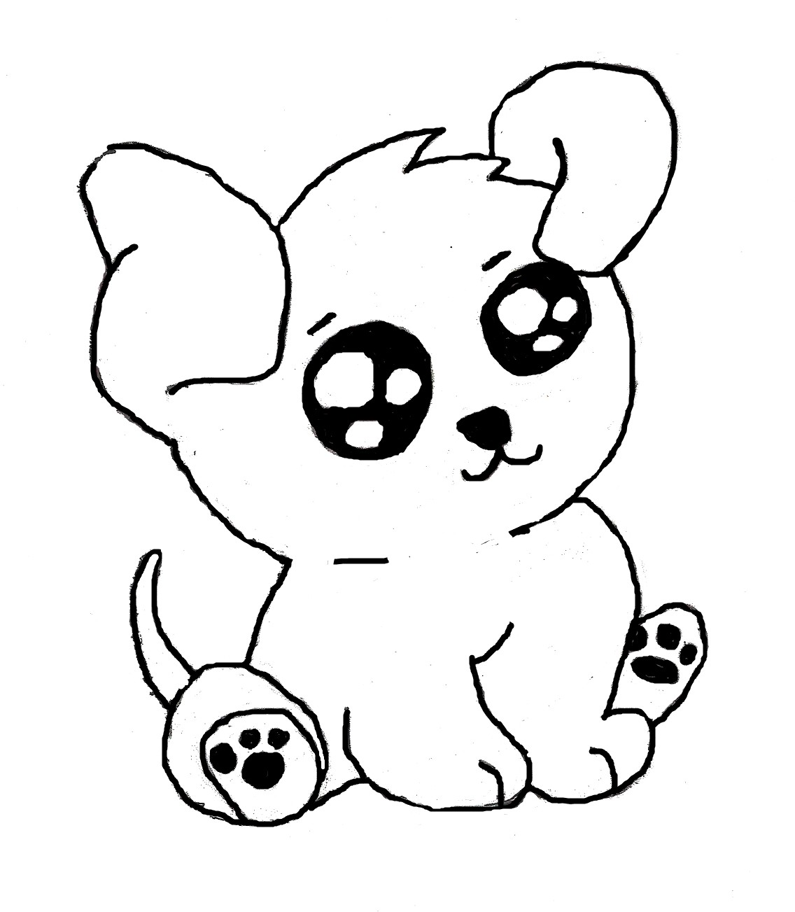 1136x1303 Cute Puppies Drawing Pictures Of To Draw