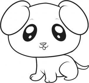 302x281 Cute Puppy Pictures To Draw Drawing Cute Puppy