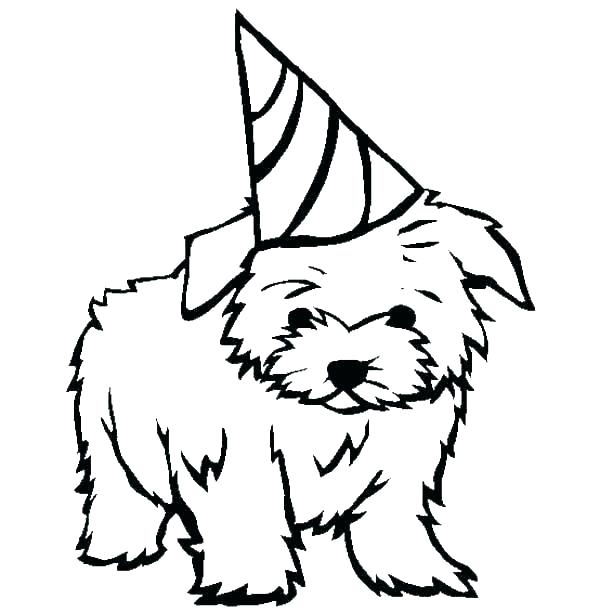 600x612 puppy dog coloring pages cute dog coloring pages puppy pictures
