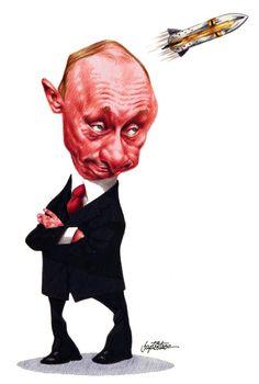 Putin Drawing