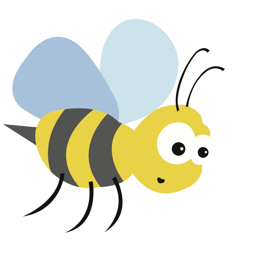 1050x1050 Bee Drawing Png Easy Girl Tutorial Queen Side View Transparent