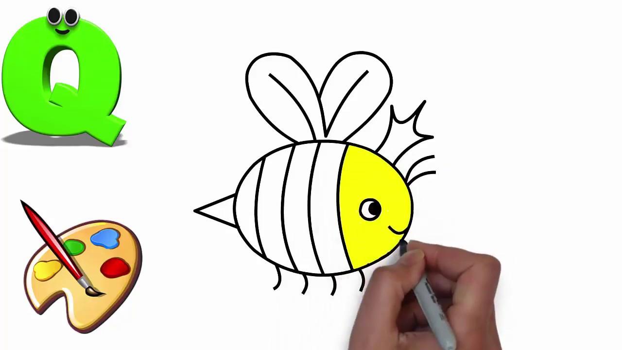 1280x720 Children Learn Alphabet Animal
