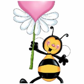 320x320 Hd Bees Clipart Heart