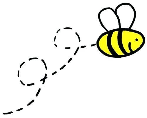 500x403 Bee Cartoon Drawing Bee Bumble Bee Cartoon Drawing