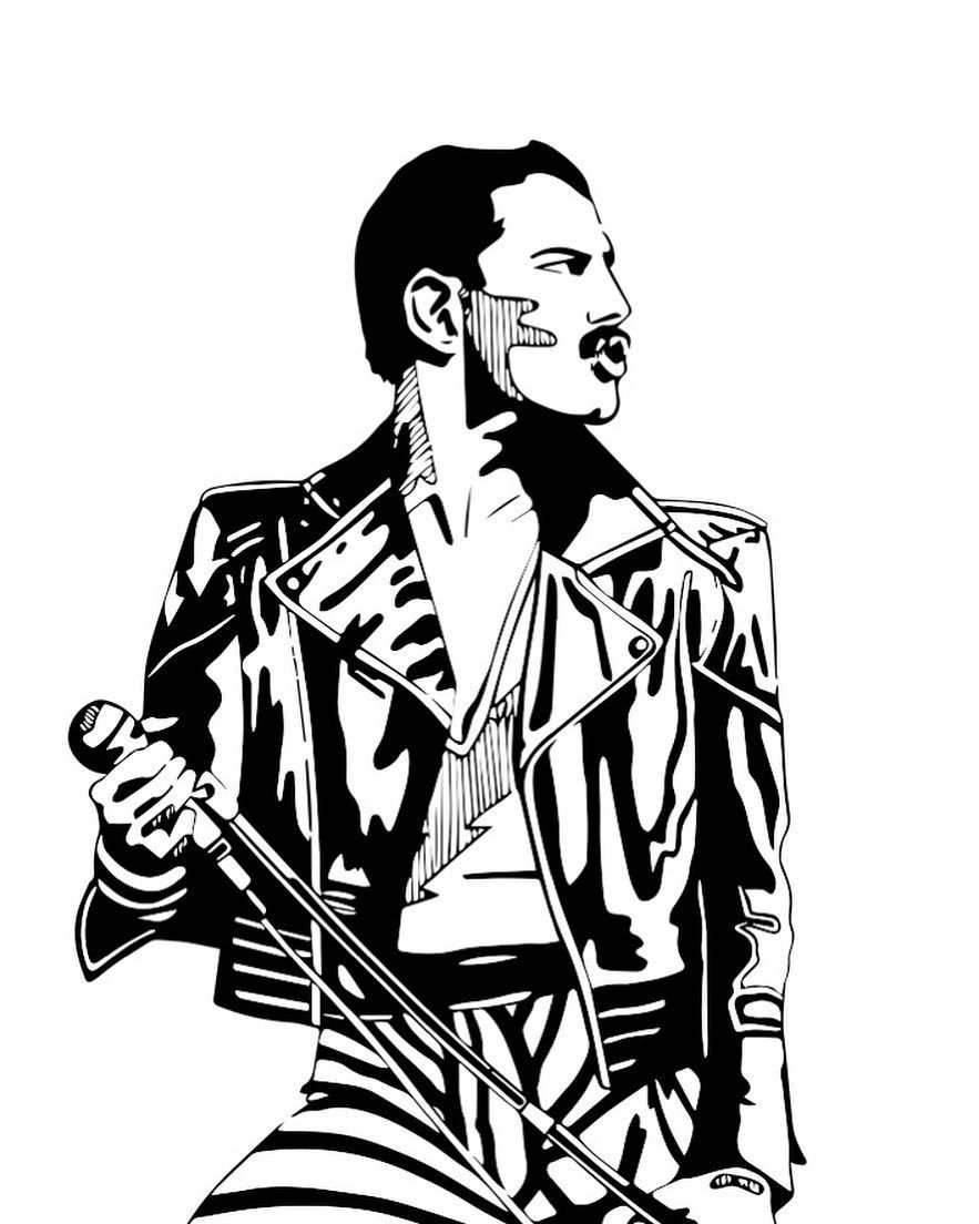 883x1104 The Legend Freddie Mercury Motg