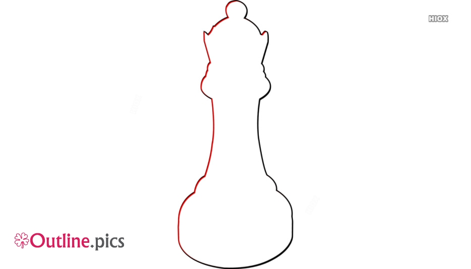 934x534 Chess Piece Queen Drawing Outline Outline Pics
