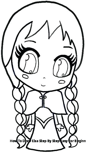 349x620 elsa drawing easy and drawing easy easy elsa drawing full body