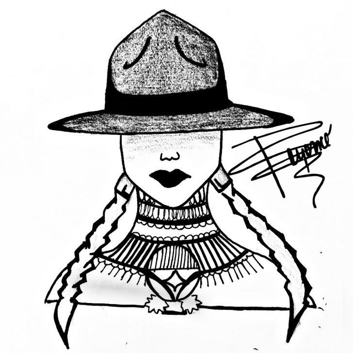 728x728 Beyonce Drawing Cartoon Easy Portrait Step