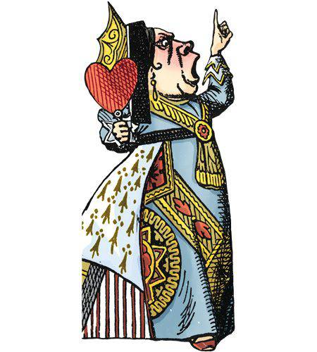 450x500 Queen Of Hearts Quotable Notables Note Card The Book Store
