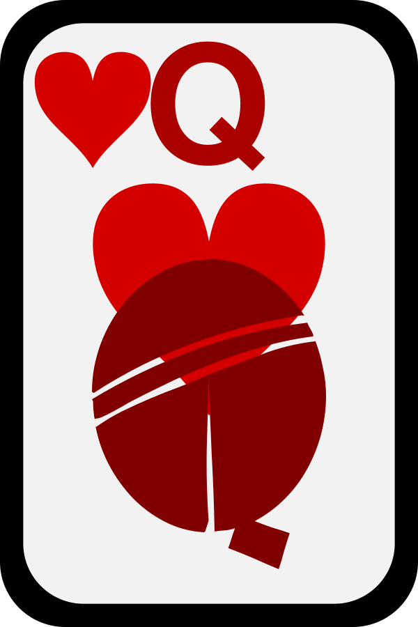 600x900 Queen Of Hearts Png Clip Arts For Web