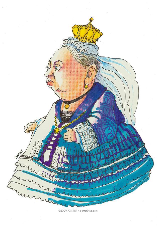 626x900 Queen Victoria Drawing