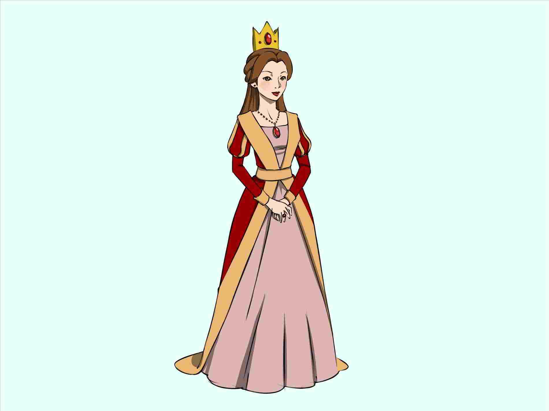 1900x1425 Caron How To Draw Queen Victoria Cartoon Ing