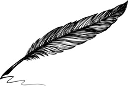 260x180 download animated quill gif clipart quill drawing