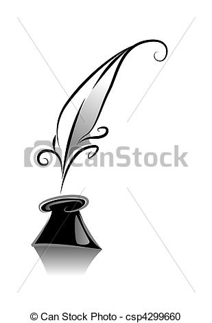 309x470 quill pen clip art and stock illustrations quill pen