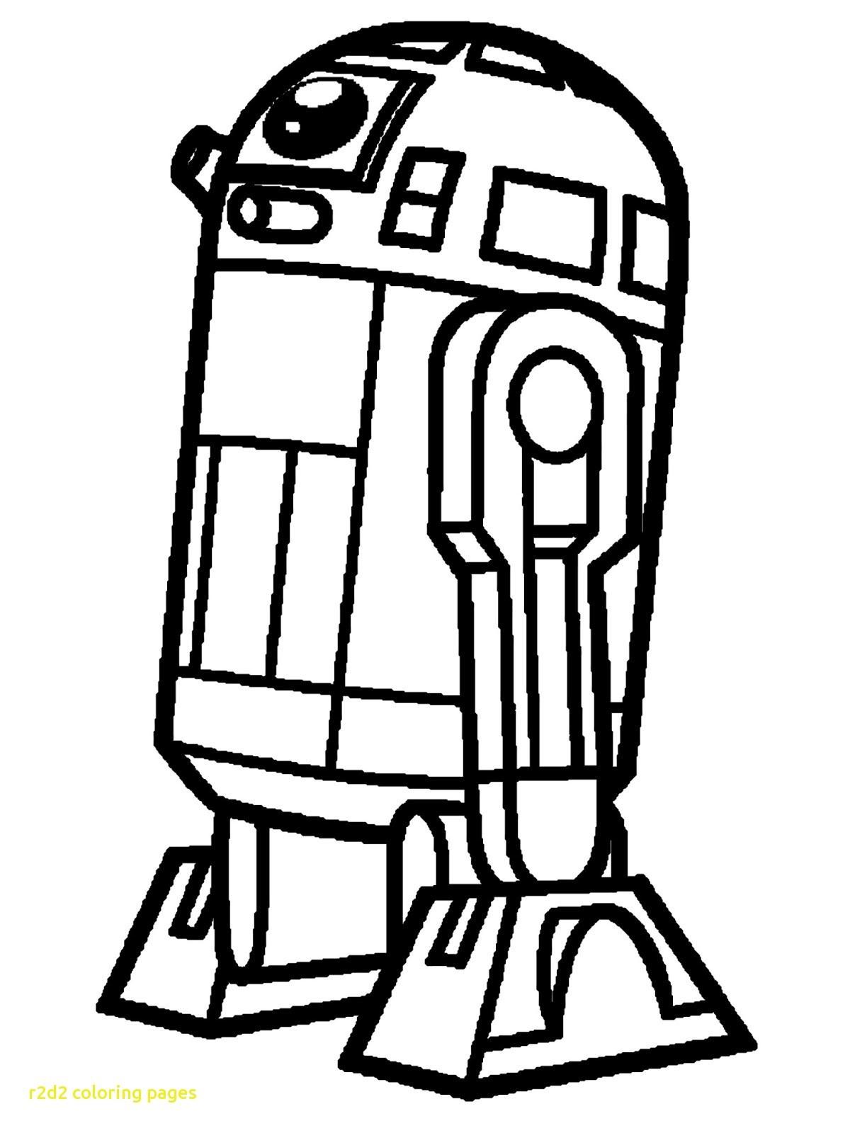 Coloriage Star Wars R2d2 - Dessin et Coloriage