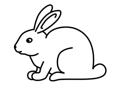 474x355 drawing of a bunny draw bunny ears draw bunny easy draw bunny face