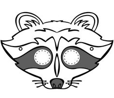 235x202 raccoon mask patriot pals raccoon mask, mask for kids
