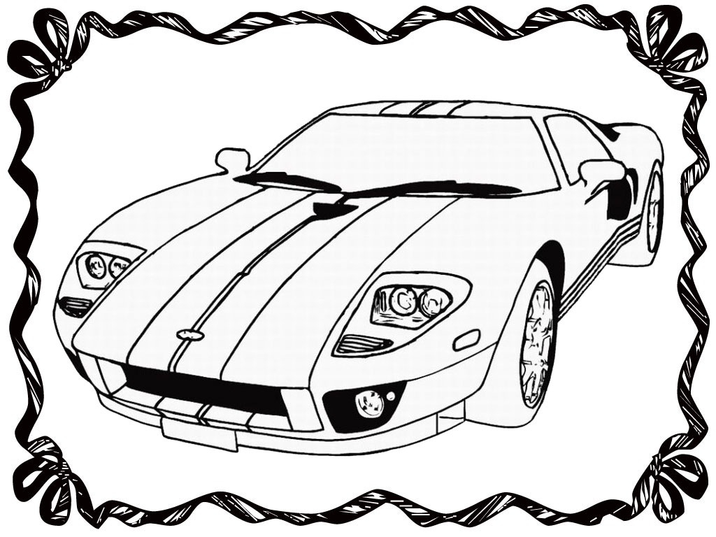 1024x768 Cartoon Race Cars Drawings How To Draw A Race Car Easy For Kids