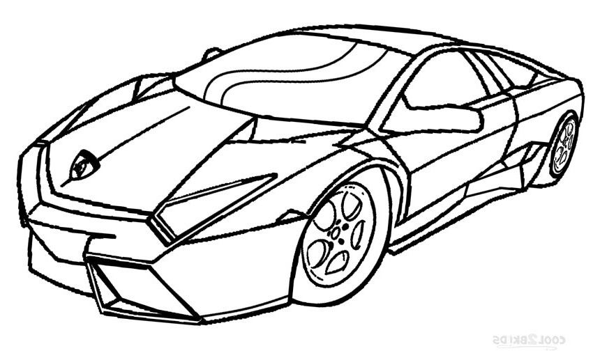850x517 Cool Car Coloring Pages Awesome Coloring Pages Car Printable Race