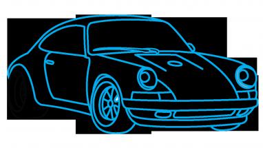 382x215 Porsche Drawing Race Car Huge Freebie! Download For Powerpoint