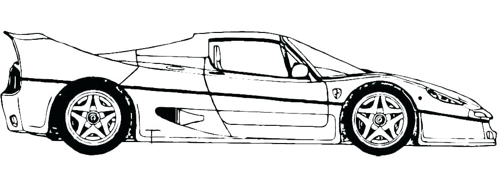 1024x356 Free Race Car Coloring Pages Coloring Pages Racing Cars Nascar