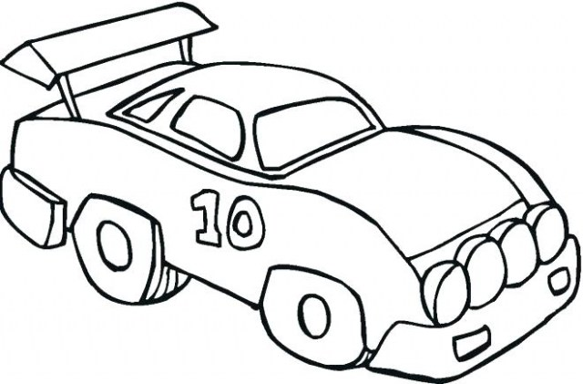 640x421 Race Car Coloring Pages Great Race Car Coloring Pages Easy Simple