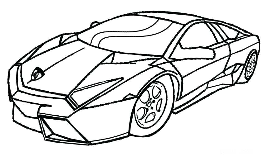 850x517 Car Coloring Pages Com Police Sheets To Print Cars For Kids