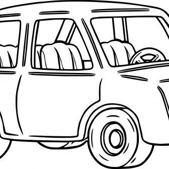 336x336 Cartoon Race Car Drawing Step