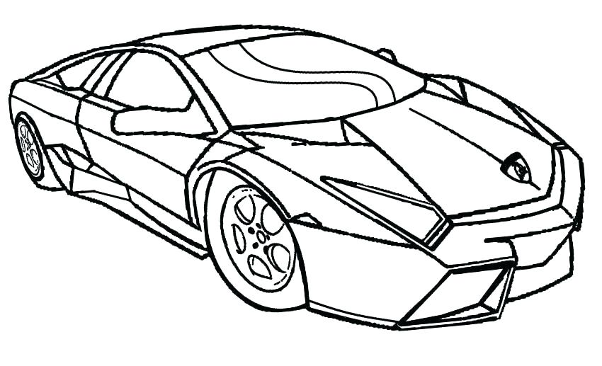 850x517 Race Car Coloring