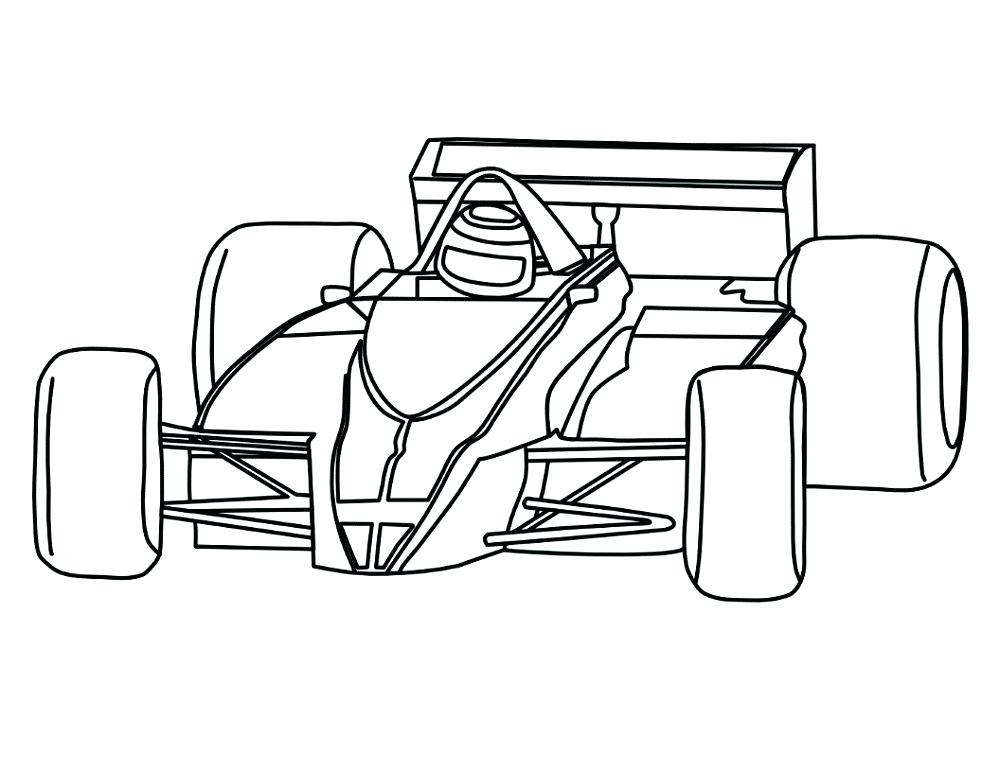 1000x772 simple race car drawing at free for personal use race car color
