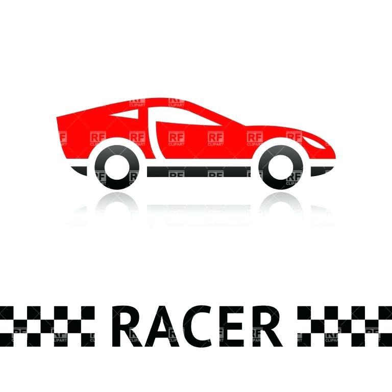 768x768 Race Car Drawing Template