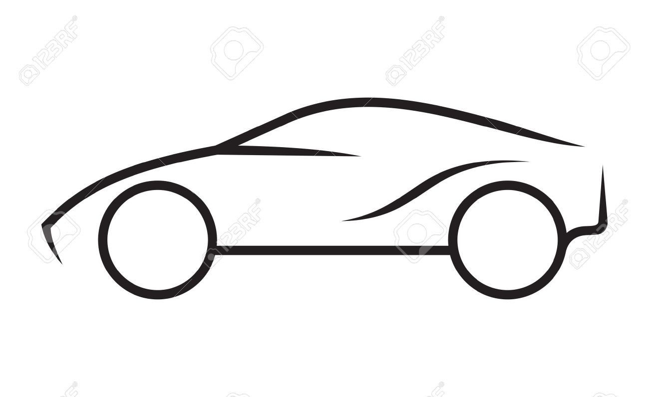 1300x796 Racing Car Sketch Drawing Unique How To Draw A Sports Car Easy
