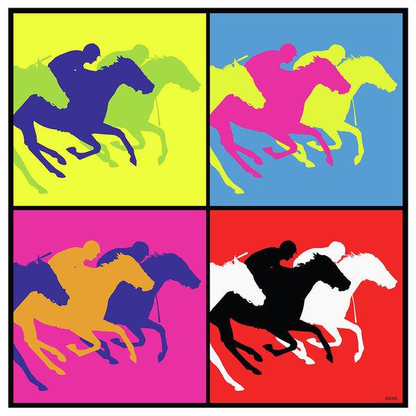 600x600 Horse Racing Drawings Fine Art America