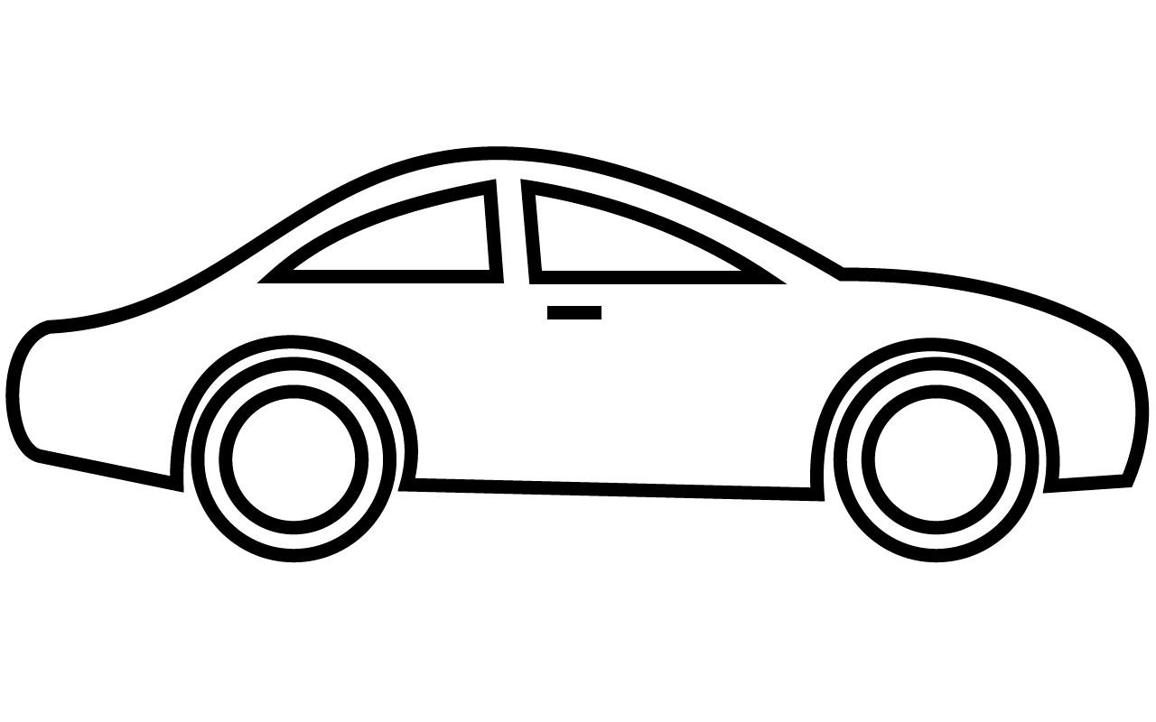 1280x800 Sports Car Drawing Outline At Getdrawingscom Free For Personal