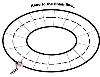 350x270 race track for racing race cars activity articulation