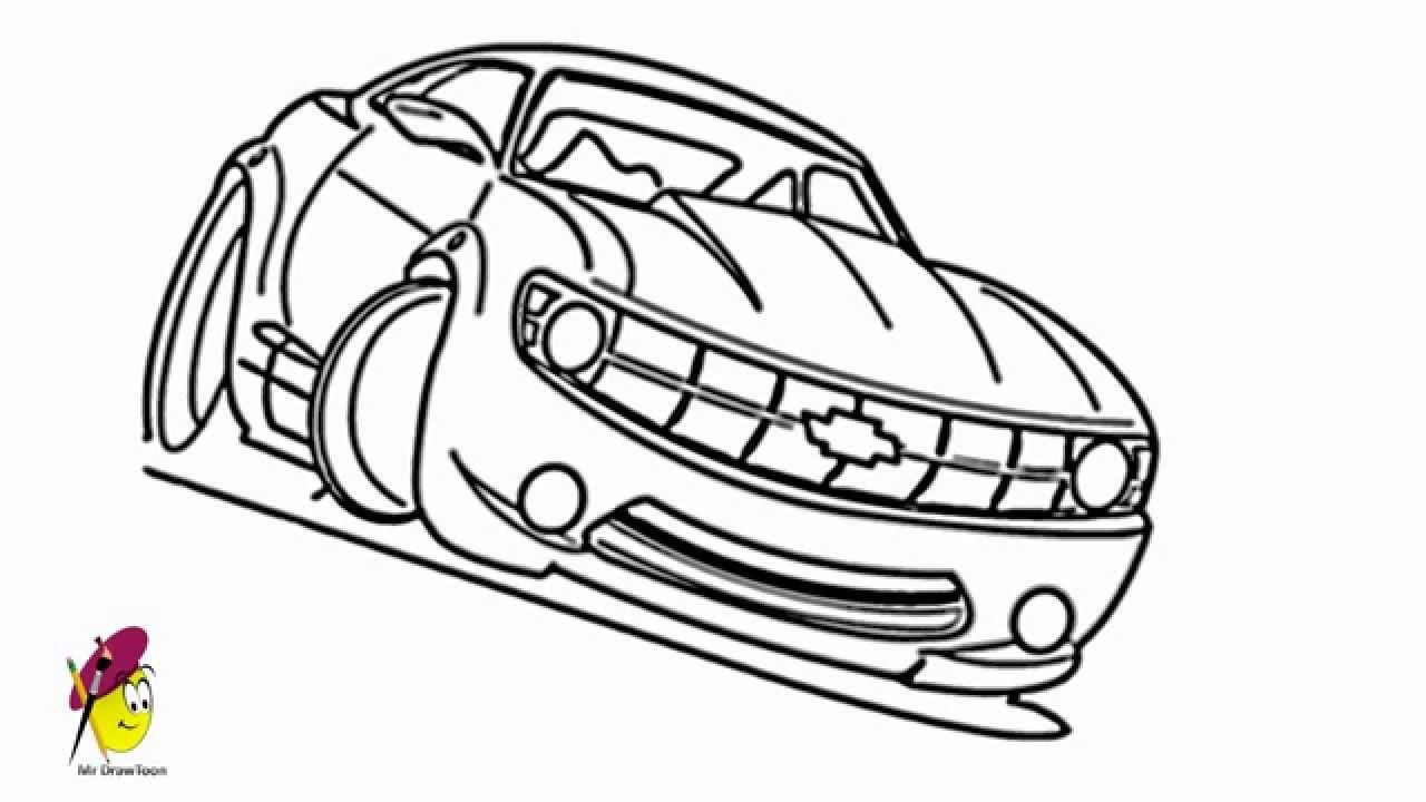 1280x720 Racing Car Chevy Camaro