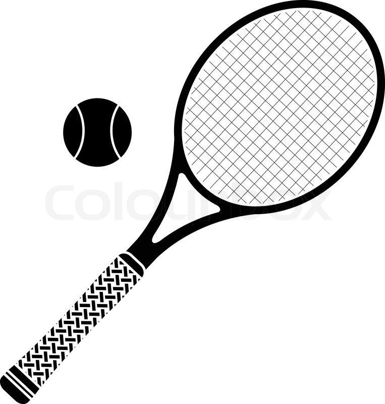 763x800 tennis ball and racket luxury tennis und ball symbol