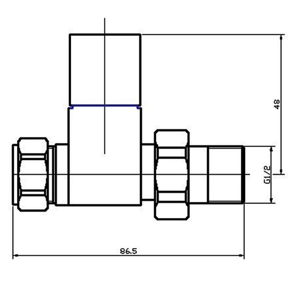 600x600 hudson reed straight radiator valves straight chrome