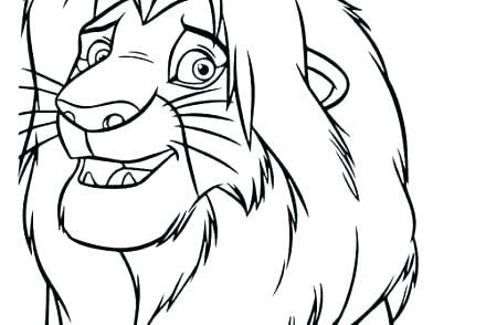 440x294 drawing lion king lion king scar lion king face drawing