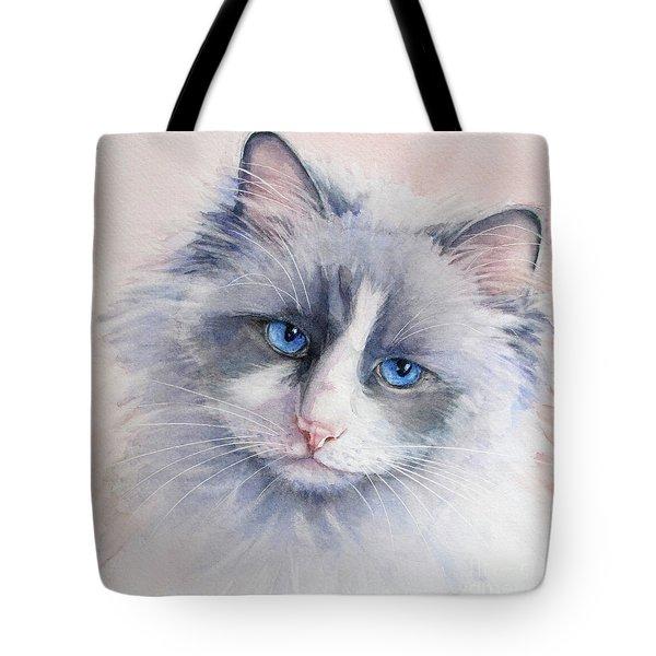 600x600 Ragdoll Cat Tote Bags Fine Art America