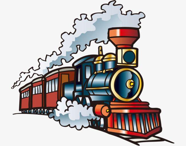 650x511 hand painted with cartoon train, cartoon vehicles, hand painted