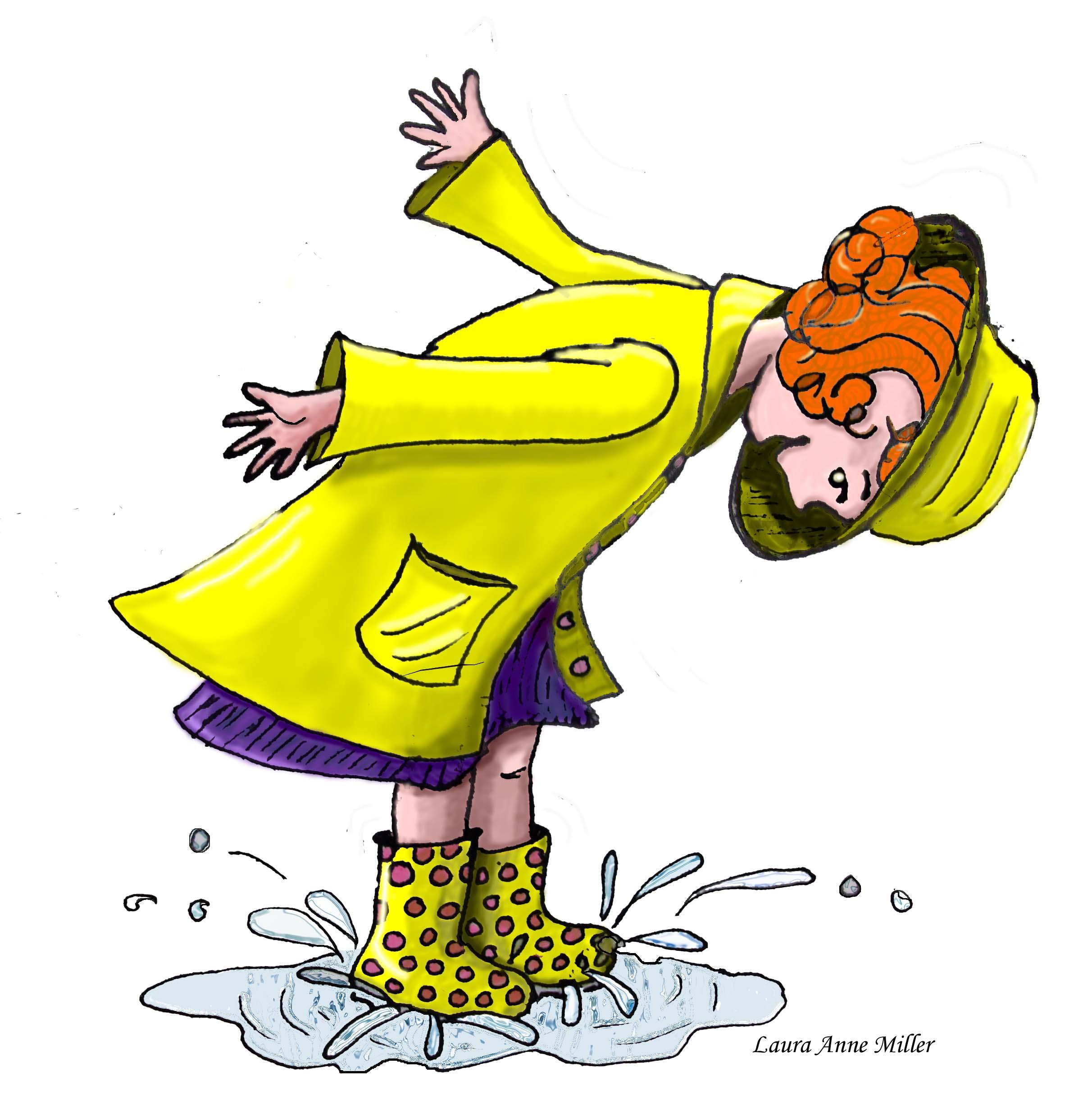 2424x2460 Pink Polka Dot Rainboots Skadamo Laura Miller