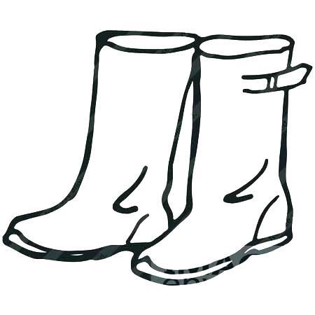 450x450 Rain Boots Coloring