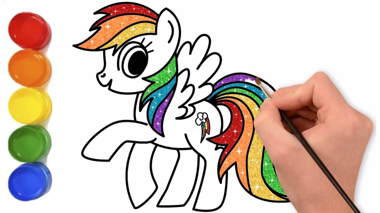 1280x720 How To Draw My Little Pony Rainbow Dash