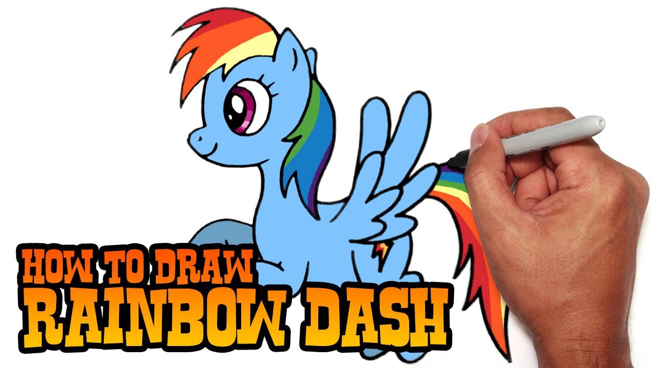 1280x720 How To Draw Rainbow Dash