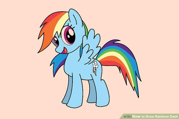 728x485 Ways To Draw Rainbow Dash