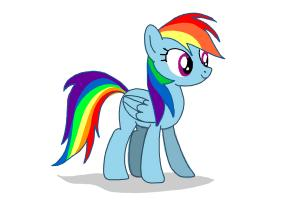 300x200 How To Draw Rainbow Dash From My Little Pony Friendship Is Magic