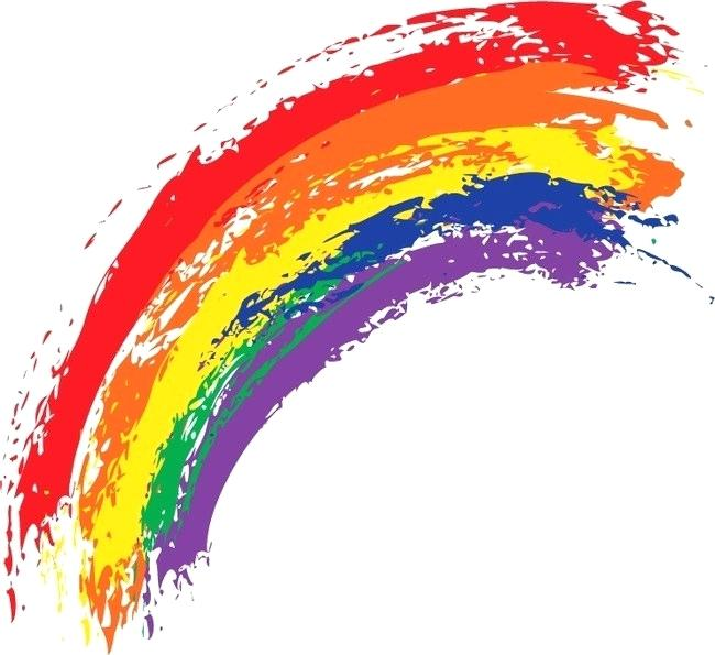 650x595 rainbow drawing rainbow photo drawing pretty rainbow colors